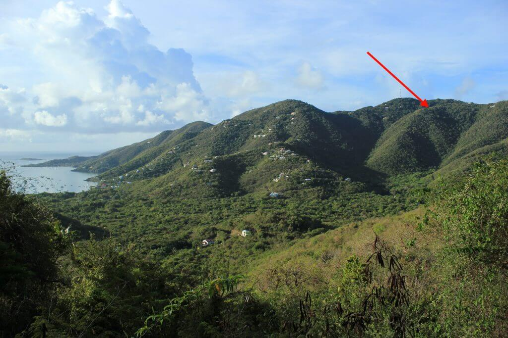 Esprit St John sits high atop Bordeaux Mountain in the US Virgin Islands National Park